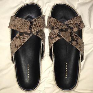 TOPSHOP slip on sandal